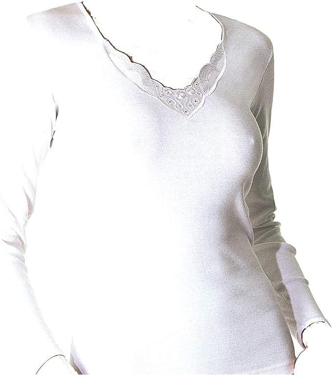 AVET 7705 - Camiseta Manga Larga sin Costuras: Amazon.es: Ropa y accesorios