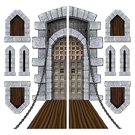 Amazon.com Castle Door u0026 Window Props Party Accessory (1 count) (9/Pkg) Toys u0026 Games  sc 1 st  Amazon.com & Amazon.com: Castle Door u0026 Window Props Party Accessory (1 count) (9 ...