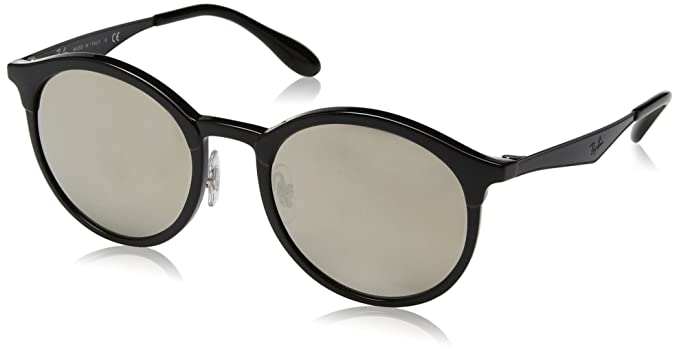 b91a1f3cb2 Ray-Ban Emma Non-Polarized Iridium Round Sunglasses