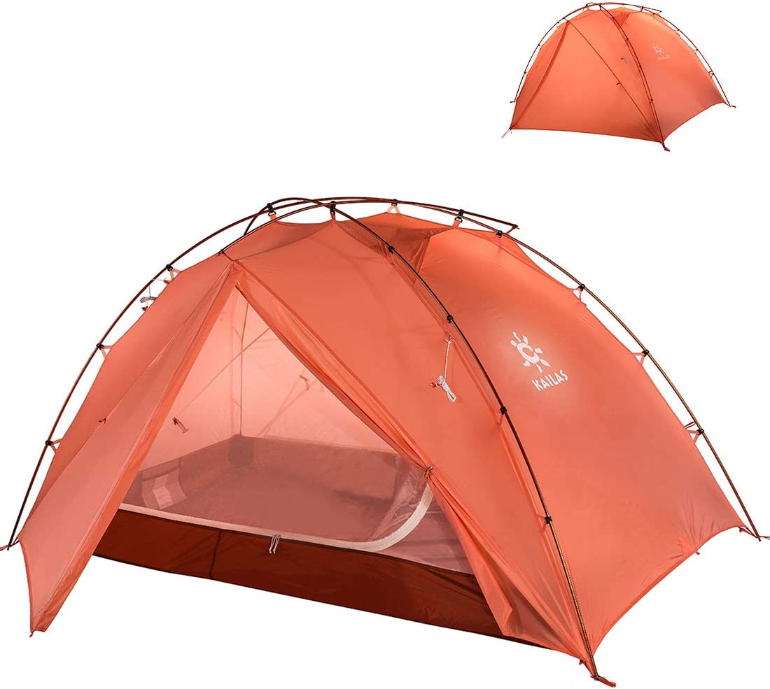 KAILAS Stratus 2-3 Person Camping Tent Lightweight Backpacking Tent Waterproof for Outdoor Camping Hiking