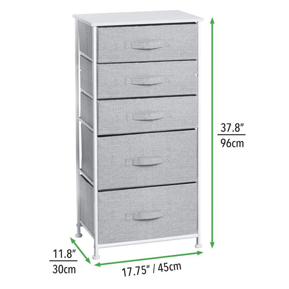Amazon.com: mDesign - Torre de almacenamiento vertical para ...