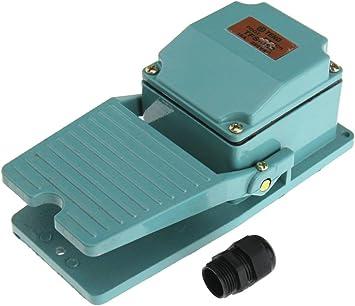 250V Fußschalter Trittschalter Fußpedal Schalter Fernschalter mit Schutzhaube DE