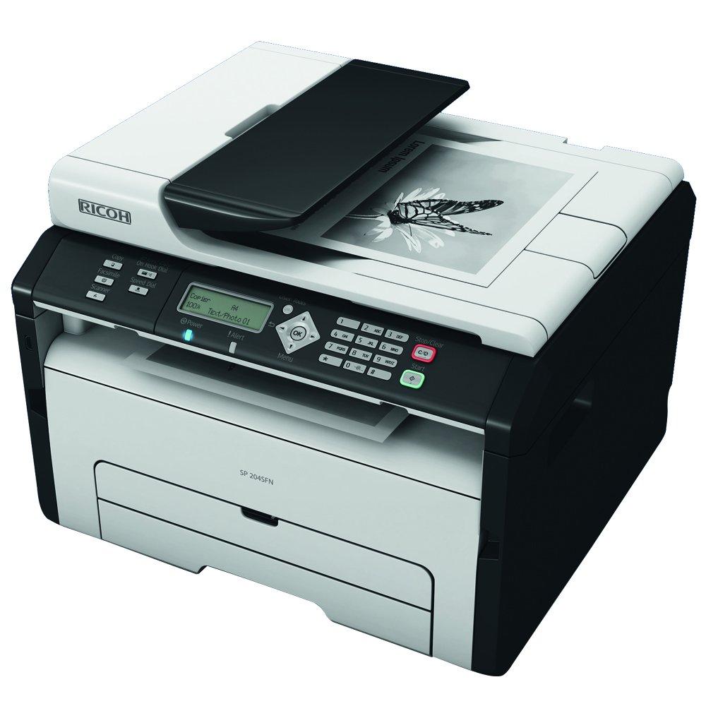 Amazon.com: Ricoh SP 204 SFN impresora multifuncional blanco ...