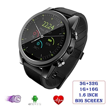 Amazon.com: QEAC Smart Watch 4G LTE Android 7.1 Smart Watch ...
