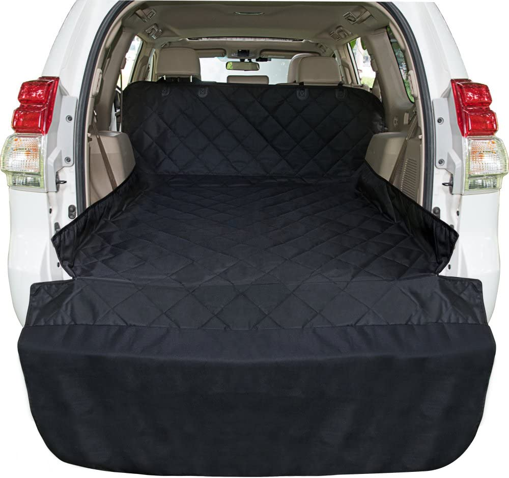 Ace Teah SUV Pet Cargo Liner, Large Waterproof Dog SUV Cover with Bumper Flap Protector