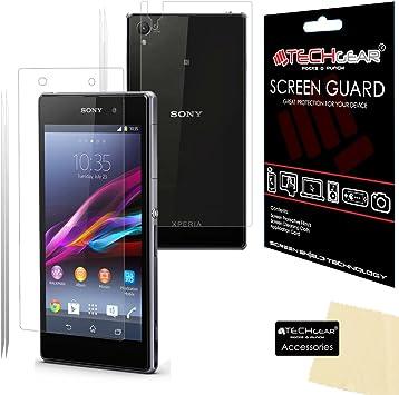 Techgear® Sony Xperia Z1 L39H Premium completa en la parte ...