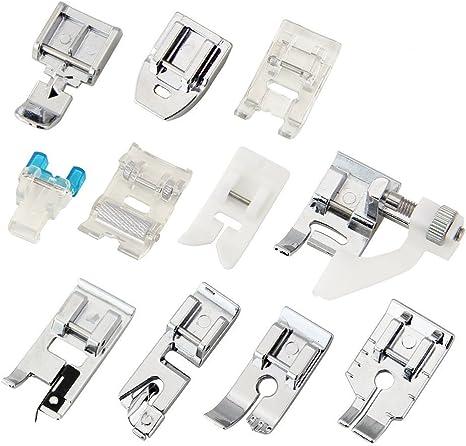 ZILONG 11 pc doméstico máquina de coser pie prensatelas pie Set de ...