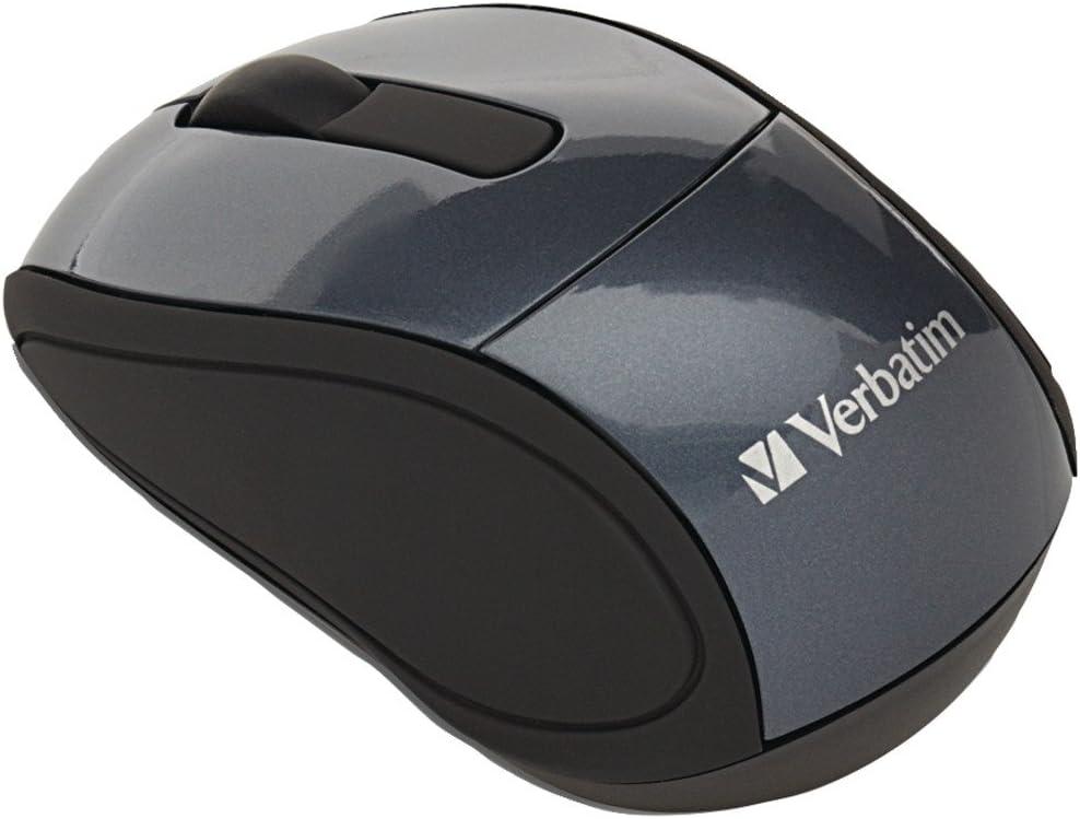 Graphite Verbatim 97470 Wireless Mini Travel Mouse
