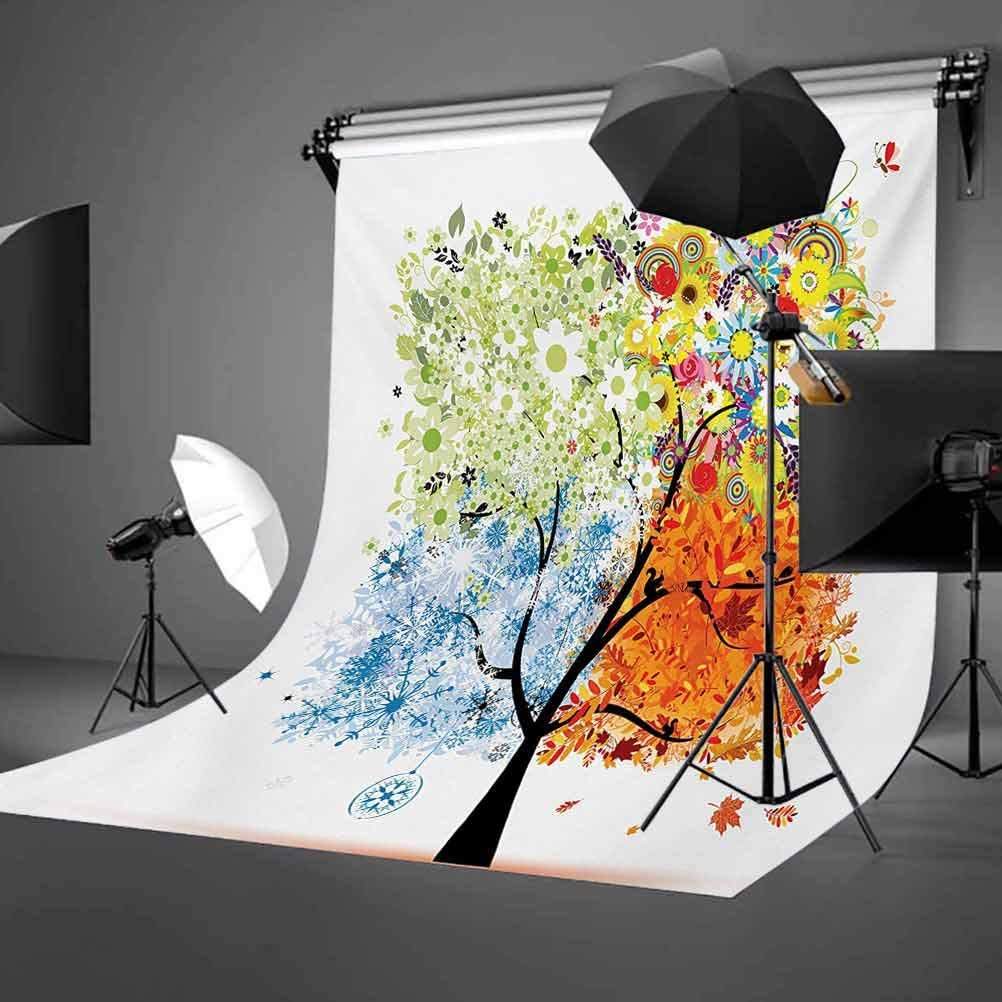 Rustic 8x10 FT Backdrop Photographers,Rose Flower with Petals Beauty Romantic Work of Art Composition Foliage Image Background for Photography Kids Adult Photo Booth Video Shoot Vinyl Studio Props