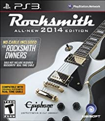 """Rocksmith 2014 Edition - """"No Cable Included"""" Version for Rocksmith Owners - Playstation 3"""