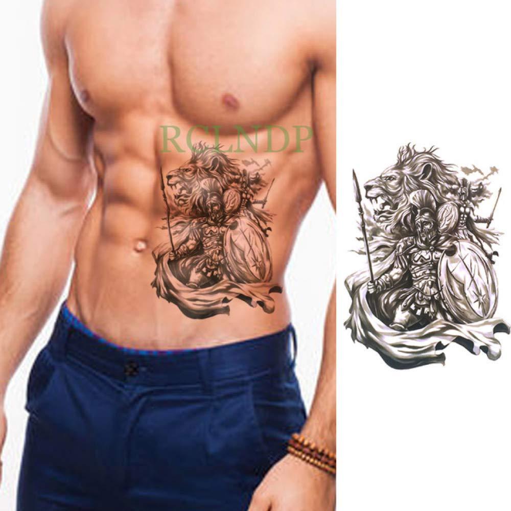 ljmljm 4 Piezas Impermeable Tatuaje Pegatina águila Ultraman Tatto ...