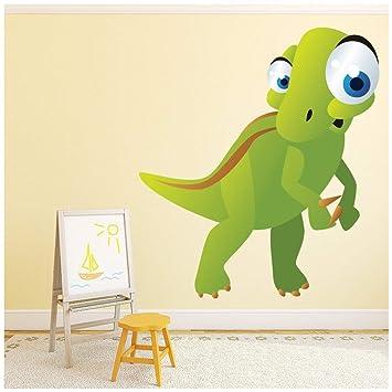 Azutura Niedlich Grun T Rex Wandtattoo Dinosaurier 23018 Kinder