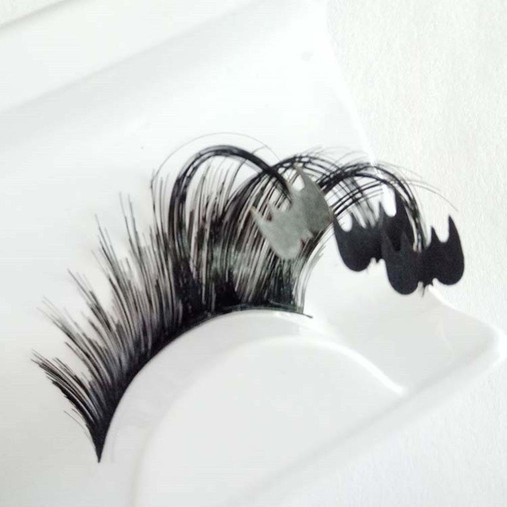 Amazon False Eyelashes Halloween Party Eyelashes Makeup Art