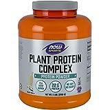 NOW Sports Nutrition, Plant Protein Complex Powder 22 G, Creamy Vanilla, 6-Pound