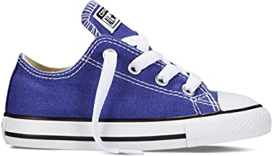 8b40274000effd Converse Chuck Taylor All Stars Ox Periwinkle Purple Toddler Infant Trainers  747140C (UK4 Infant