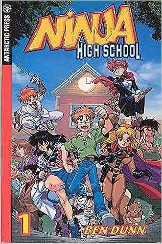 Amazon.com: Ninja High School: Manga: 4 (9781932453621): Ben ...