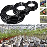 Raza New 20m Watering Tubing PVC Hose Pipe 4/7mm Micro Drip Irrigation Pipe System Sprinkler Fittings Hose Reels For Gardens