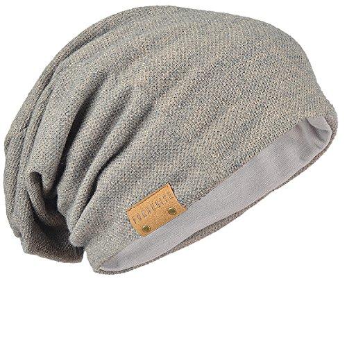 FORBUSITE Slouch Beanie Hat for Men Women Summer Winter Khaki ()