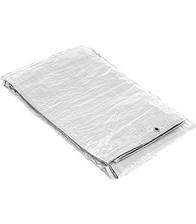 Silbor - Toldo blanco reforzado 2x3 m.: Amazon.es: Bricolaje y herramientas