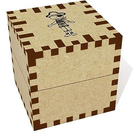 Azeeda Pequeña (39mm) Pirata Joyería Caja (JB00049556)