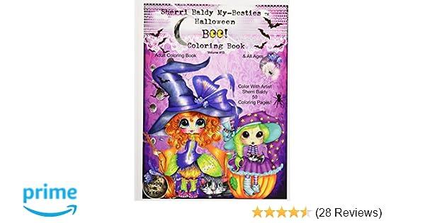 Amazon Sherri Baldy My Besties Tm Halloween Coloring Book Boo