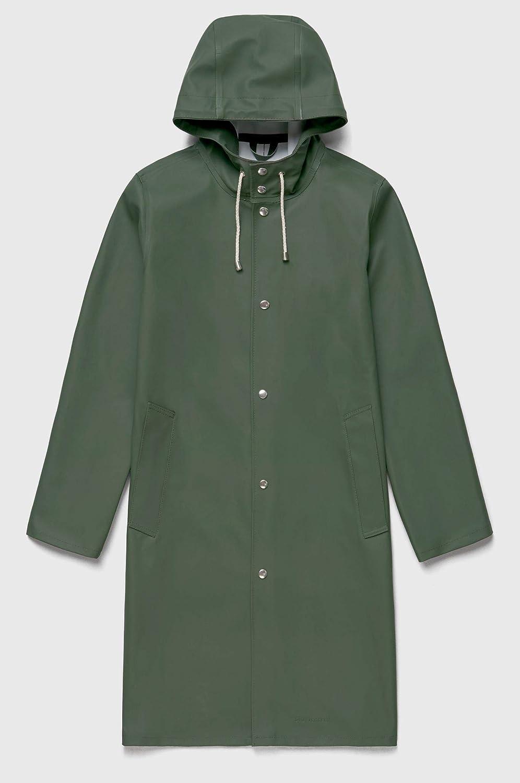 (ストゥッテルハイム) STUTTERHEIM Stockholm unisex Long Raincoat ストックホルムユニセックスロングレインコート(並行輸入品) B07GTXL5DX グリーン XX-Small