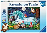 Ravensburger Enchanted Forest - 100 Piece Jigsaw Puzzle for Kids – Every Piece is Unique, Pieces Fit Together Perfectly