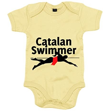 Body bebé Catalan Swimmer Cool Catalans - Amarillo, 6-12 ...