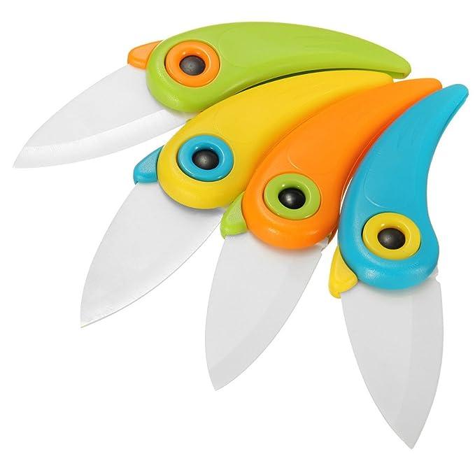 Amazon.com: Cuchillos de cerámica creativos para pájaros y ...