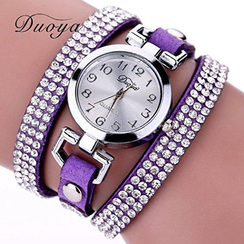 Ecosin%C2%AE Watches Bracelet Gemstone Wristwatch