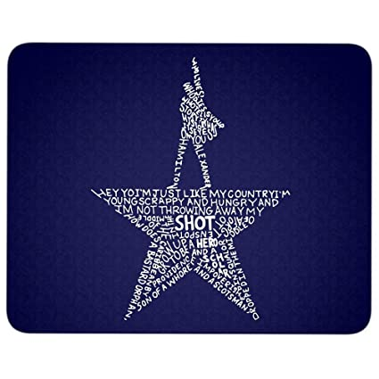 Amazon com : Hamilton Gold Star Mouse Pad for Typist Office