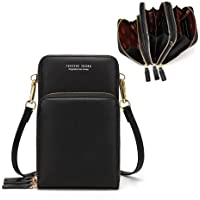 Lightweight Crossbody Phone Bag for Women, Small Shoulder Bag Cell Phone Wallet Purses and Handbags with 14 Credit Card…
