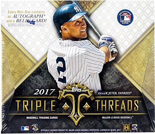 (2017 Topps Triple Threads MLB Baseball HOBBY box (2 pk))