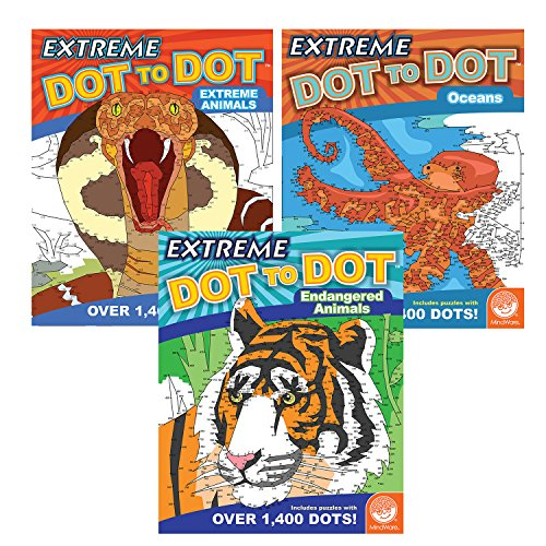 Extreme Dot to Dot: Wildlife Wonders Set of 3 -