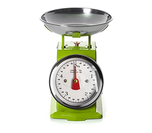 EN-81356 Bascula de cocina analógica hasta 5 kg bandeja y cuerpo ...