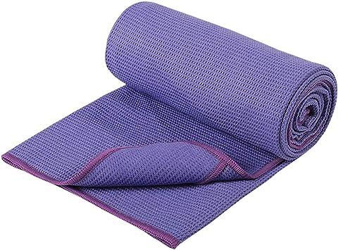 DMASUN Yoga Silicone Non-Slip Yoga Towel, Sports Yoga, Traditional Yoga, hot Yoga, Pilates Perfect Choice, Unique Corner Bag Design