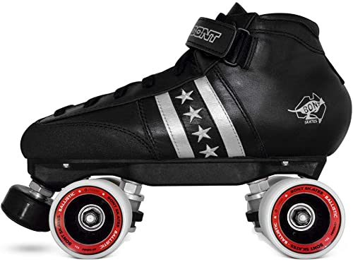Bont Skates Quadstar Roller Derby Skate Package Indoor Quad Speed Genuine Australian Leather Youth