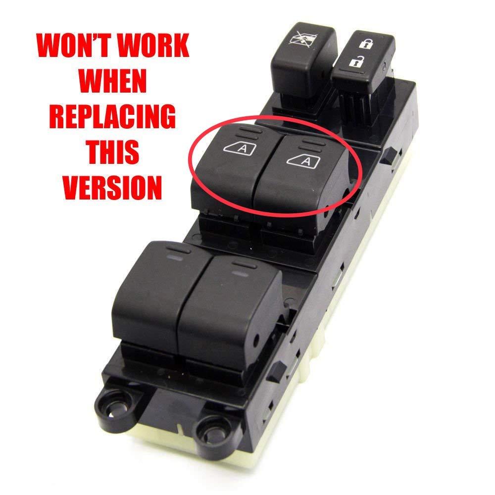 Eynpire 9220 Power Master Control Window Switch For 2005-2008 Nissan Pathfinder