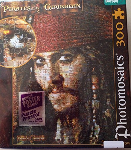 Disney Pirates Of The Caribbean Jack Sparrow Puzzle By Buffalo Games By Buffalo Games