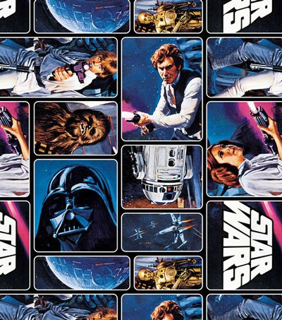1/2 Yard - Star WarsPainted Characters 100% Cotton Fabric - Officially Licensed (Great for Quilting, Sewing, Craft Projects, Throw Pillows, Quilts & More) 1/2 Yard X 44 Camelot Fabric