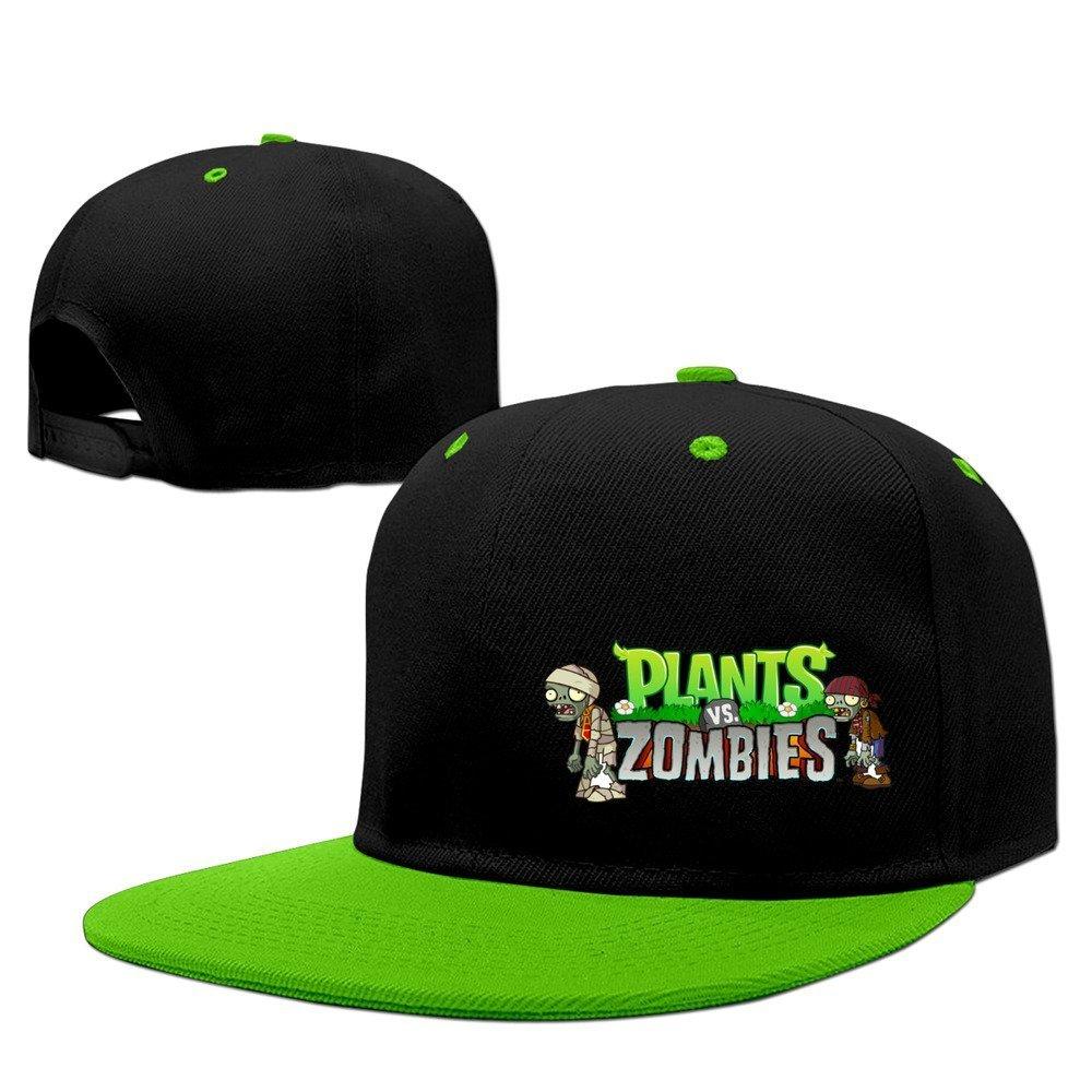 """con motivo del videogioco /""""Plants Vs Zombie/"""" unisex cappellino da baseball Red Kelly Xcarmen di colore verde"""