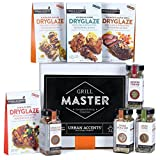 GRILL MASTER, The Complete Gourmet Grilling Collection, A Spices, Rubs and Dryglazes Gift Set, Perfect for Weddings, Housewarmings or Any Occasion - Urban Accents