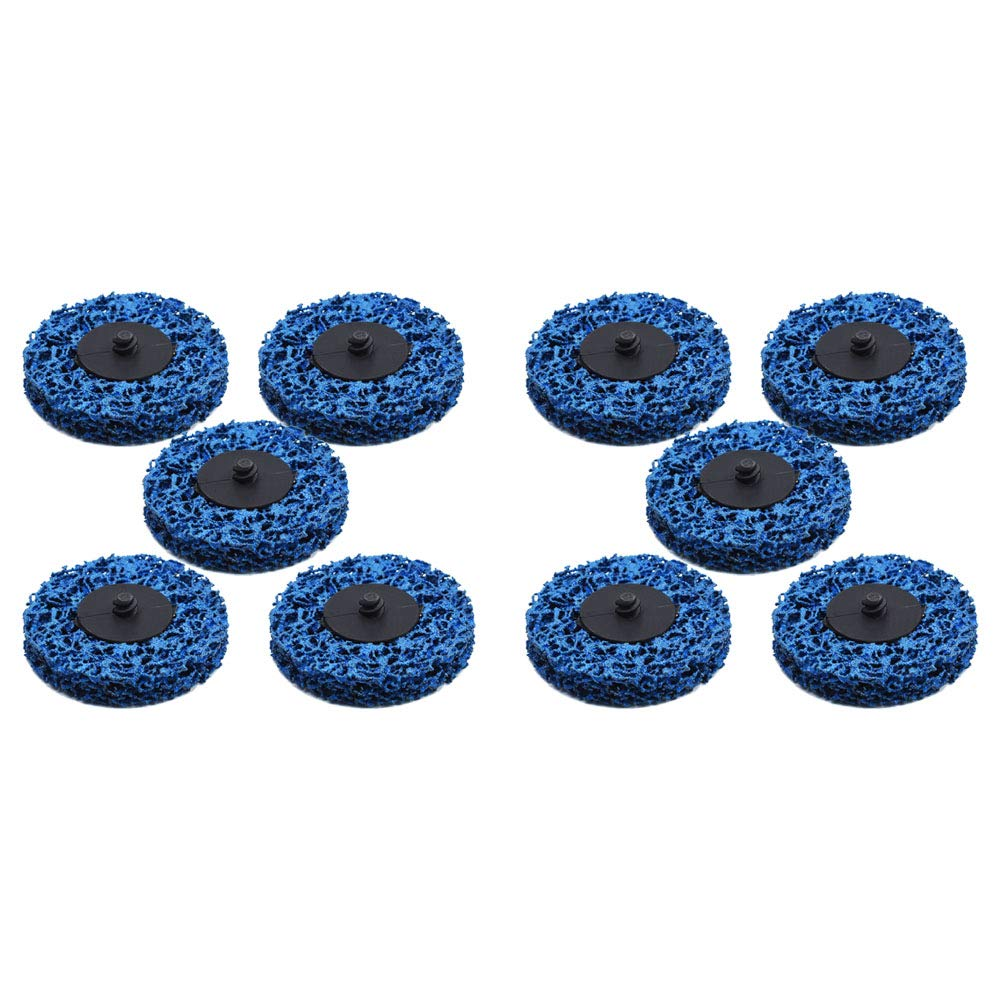 25 Pack 3 Quick Change Roloc Easy Strip /& Clean Discs for Paint Rust