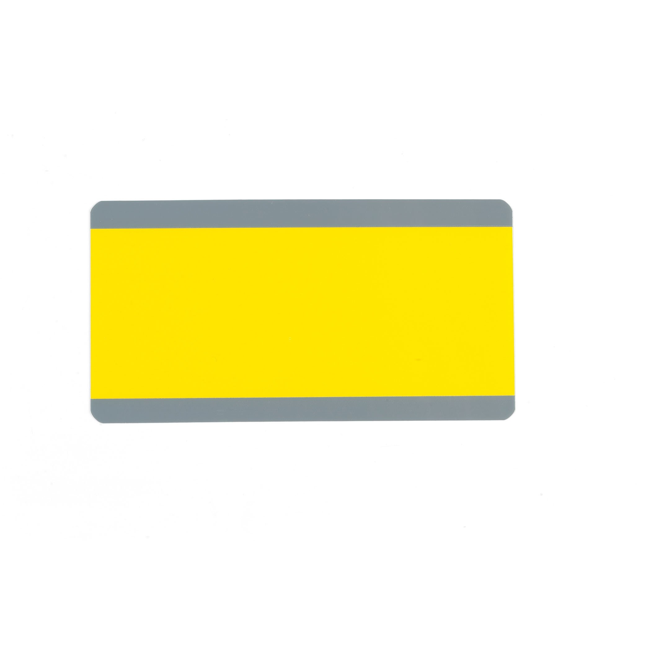 Ashley Productions Big Reading Guide, 3.75'' x 7.25'', Yellow, Pack of 12