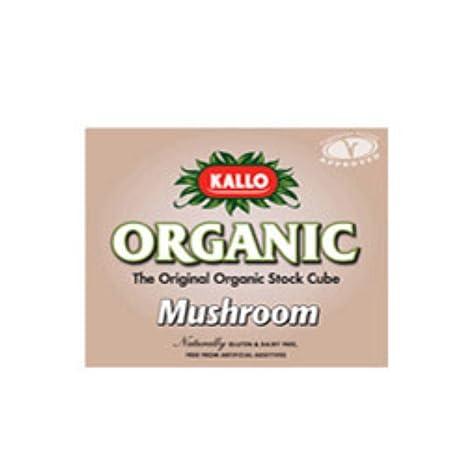 Kallo Mushroom Stock Cubes 66 g