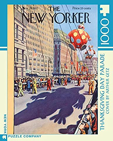 New Yorker Thanksgiving Day Parade 1000 Pieces Jigsaw Puzzle (The Thanksgiving Day Parade)
