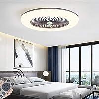 Ventilador De Luz De Techo LED Moderno Nórdico Lámpara De Techo Ventilador…