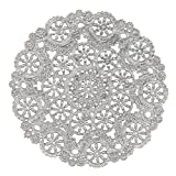 """Amazon Price History for:Royal Lace Round Foil Doilies, Silver, 10"""", 8/Pk"""