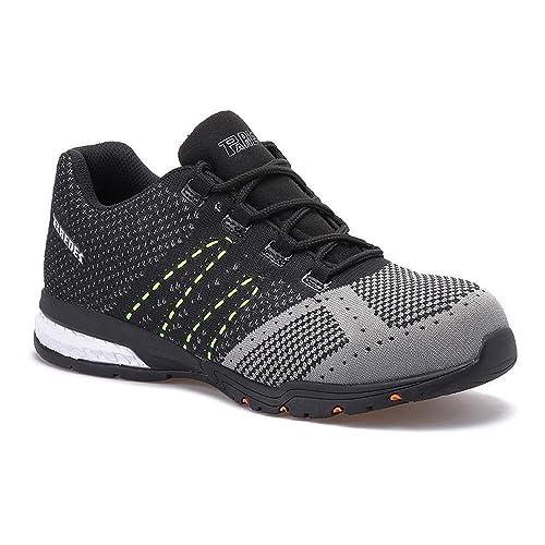 Paredes Suzuka S1P SRC - zapatillas de seguridad deportivas - negro/gris: Amazon.es: Bricolaje y herramientas