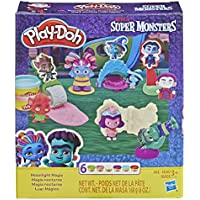 Play-Doh Netflix Super Monsters Moonlight Magic Toolset with 6 Non-Toxic Play-Doh Colors